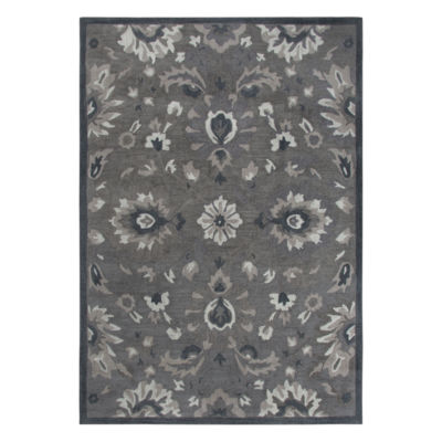 Rizzy Home Arden Loft-Sandhurst Collection Axl Hand-Tufted Floral Area Rug