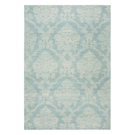 Rizzy Home Arden Loft-Sandhurst Collection Benji Hand-Tufted Damask Area Rug