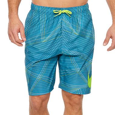 Nike Breaker Volley Trunks (Noise Aqua) + Arizona Flex Slim Straight Jeans