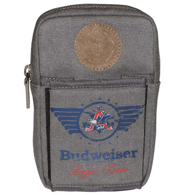 Budweiser Can Holder and Card Case