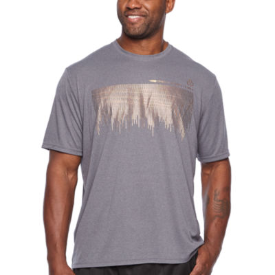 Copper Fit Short Sleeve Crew Neck T-Shirt-Big and Tall