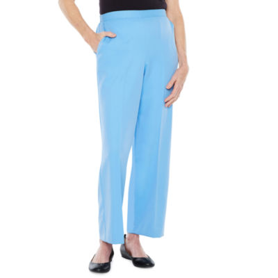 Alfred Dunner Bonita Springs Classic Fit Woven Pull-On Pants