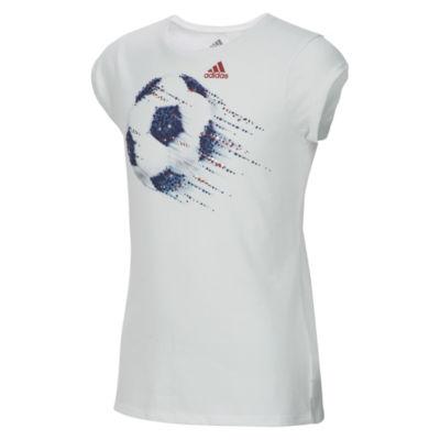 adidas Graphic T-Shirt-Big Kid Girls