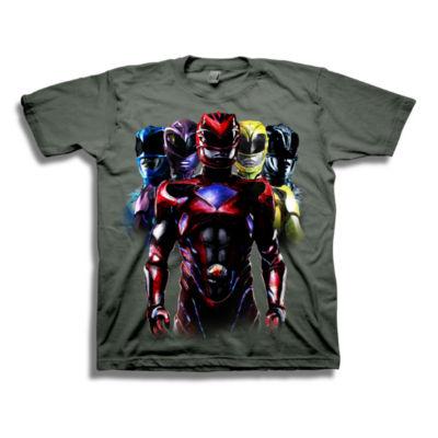 Boys 4-20 Graphic Tees Power Rangers Graphic T-Shirt-Preschool Boys