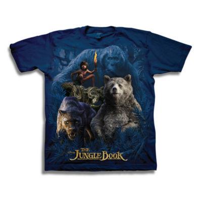Boys 4-20 Graphic Tees Jungle Book Graphic T-Shirt-Preschool Boys