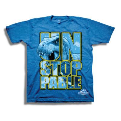 Boys 4-20 Graphic Tees Jurassic World Graphic T-Shirt-Big Kid Boys