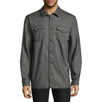 Vans Swept Long Sleeve Button-Front Shirt
