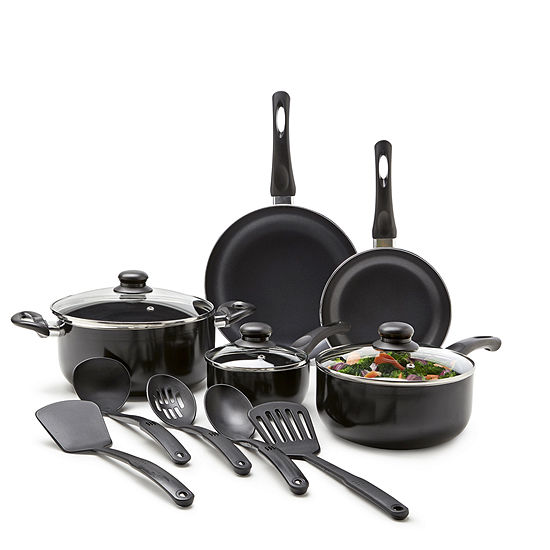 Cooks 13 Pc Essential Aluminum Nonstick Cookware Set