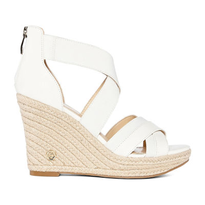 Liz Claiborne Womens Helena Wedge Sandals