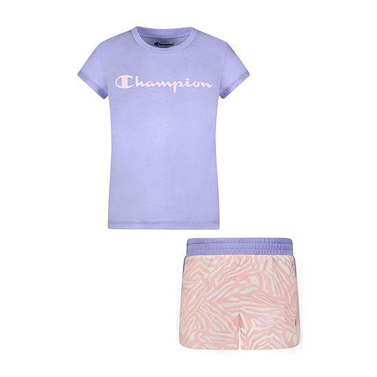 Champion Little Girls 2-pc. Short Set