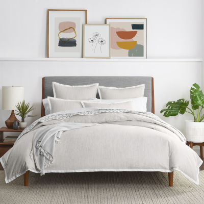 Fieldcrest Yarn Dye Heather 3-pc. Duvet Cover Set