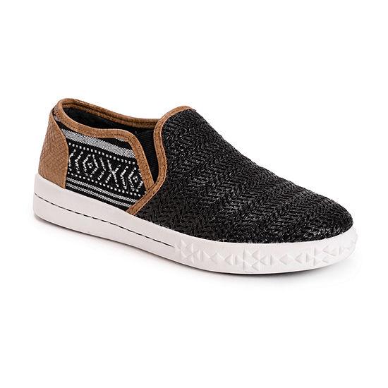 Muk Luks Womens Street Smart Slip-On Shoe