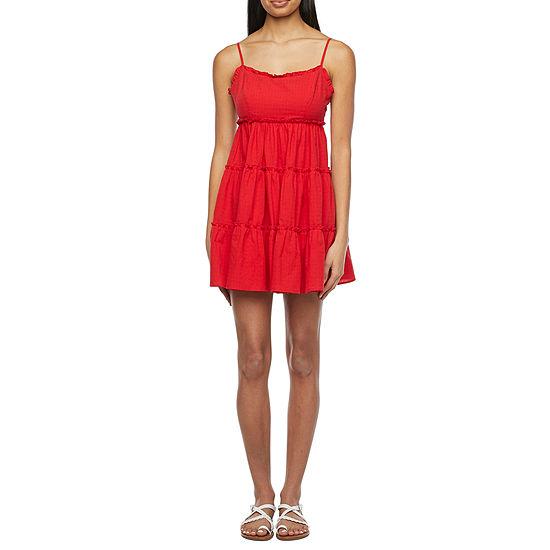 B. Smart Sleeveless Juniors Babydoll Dress