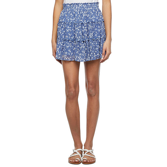 by&by Womens Flared Skirt-Juniors