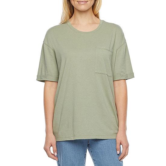 Arizona - Juniors Womens Oversized Short Sleeve T-Shirt