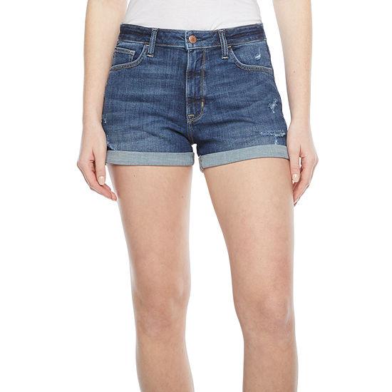 Arizona - Juniors Womens High Rise Shortie Short