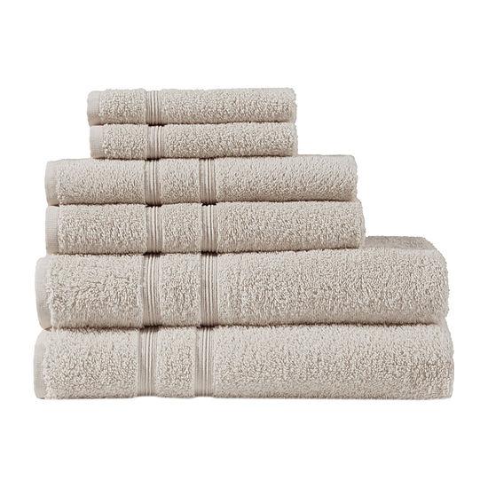 510 Design Aegean 6-pc. Quick Dry Solid Bath Towel Set