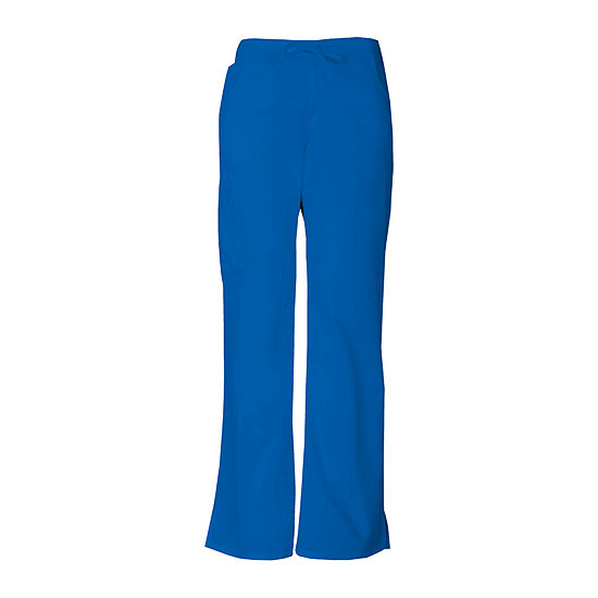 Dickies® 86206 Womens Drawstring Cargo Scrub Pants–Petite