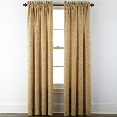 Home Expressions Rod-Pocket Curtain Panel