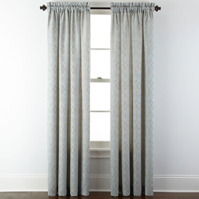 Portofino Rod-Pocket Curtain Panel