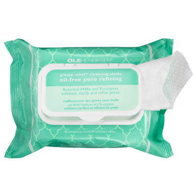 Ole Henriksen Grease Relief™ Cleansing Cloths: Oil-Free Pore Refining