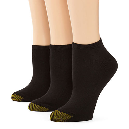 GoldToe® 3-pk. Ultra Soft No-Show Socks
