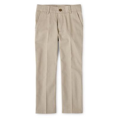 Izod Exclusive Big Boys Flat Front Pant