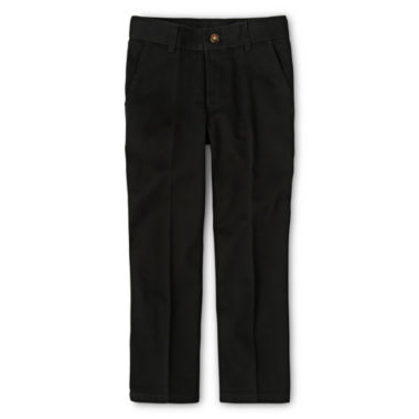 IZOD® Flat Front Twill Pants - Boys 8-20, Slim and Husky