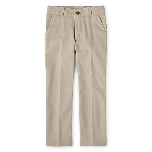 IZOD® Flat-Front Pants  - Preschool Boys 4-7 Regular and Slim