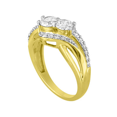 Two Forever™ ½ C.T. TW. Diamond 10K Yellow Gold Ring