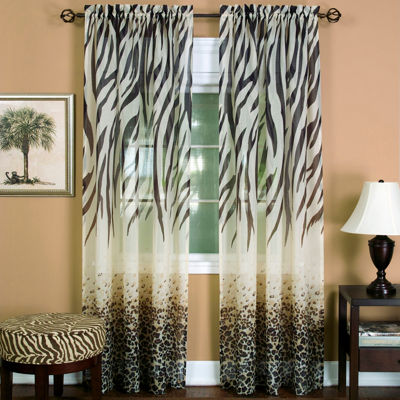Kenya Rod-Pocket Curtain Panel