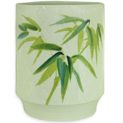 Bacova Zen Bamboo Wastebasket