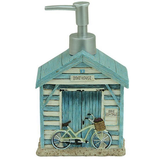 Bacova Beach Cruiser Soap Dispenser