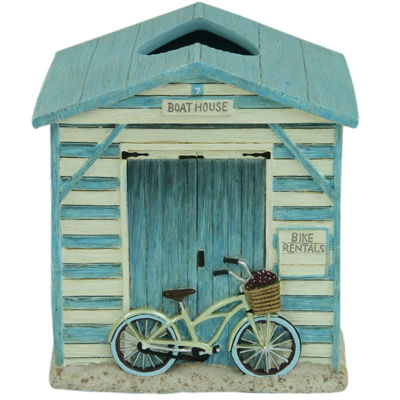 Bacova Beach Cruiser Tissue Box Cover