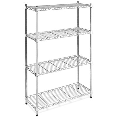 Whitmor Supreme Chrome 4-Tier Shelving