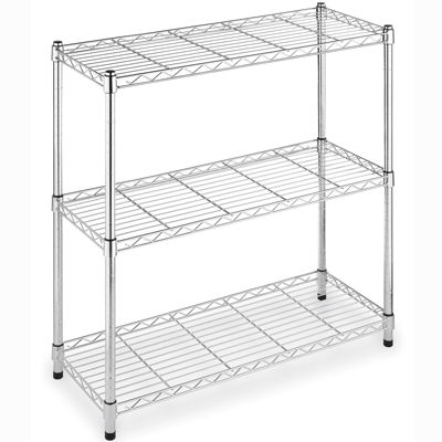 Whitmor Supreme Wide 3-Tier Shelving Unit