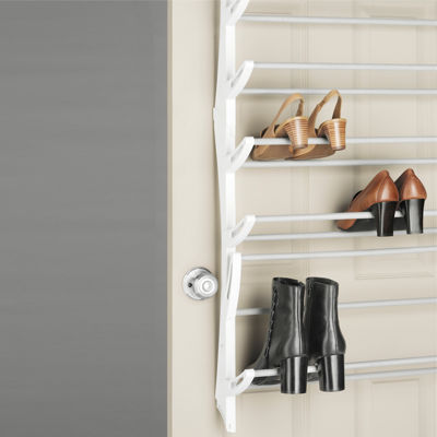 Whitmor 24-Pair Over-the-Door Shoe Rack