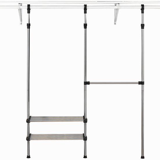 Whitmor Modular Custom Closet Kit