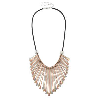 Decree® Tri-Tone Spoon Necklace