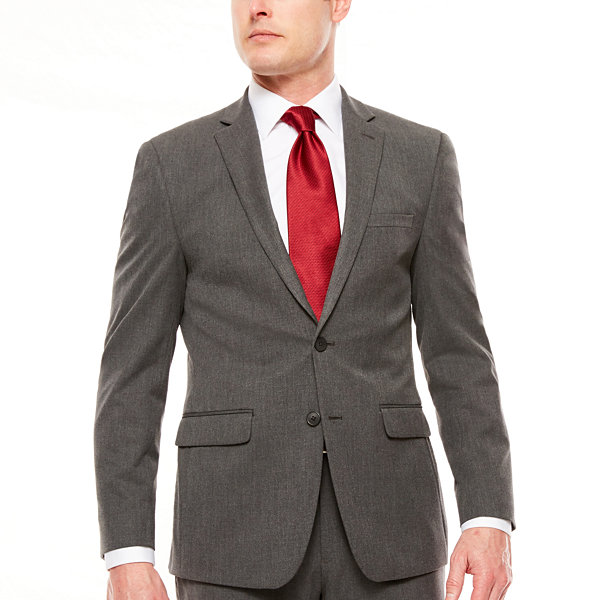 Van Heusen Mens Slim Fit Flex Stretch Suit Separates-Custom Jacket /& Pant Size Selection