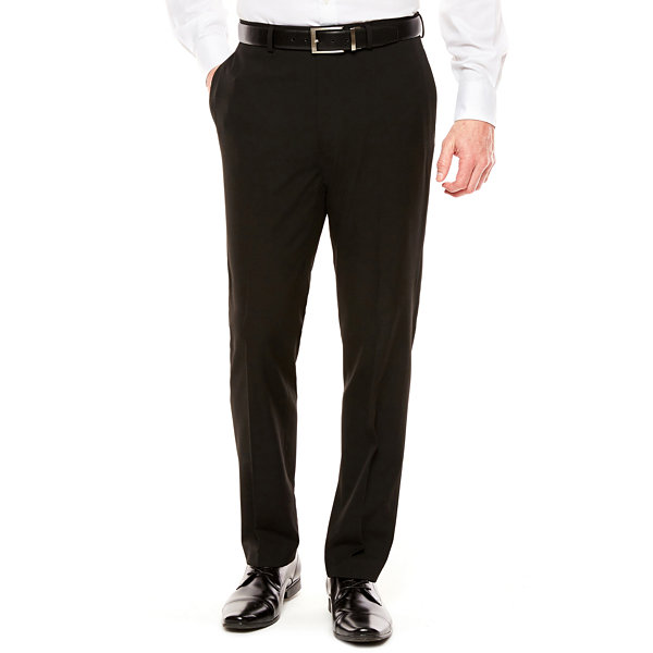 Men's Van Heusen Flex Stretch Hemmed-Leg Slim-Fit Suit Pants