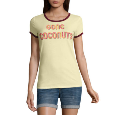 "Arizona ""Gone Coconuts"" Graphic T-Shirt- Juniors"