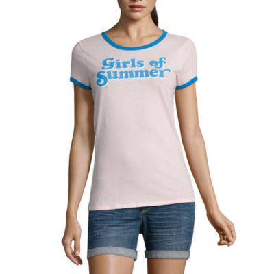 """Arizona """"Girls of summer"""" Graphic T-Shirt- Juniors"""