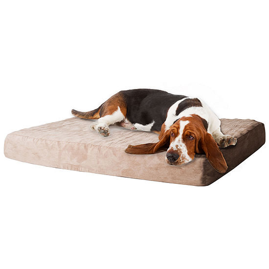 PAW Memory Foam Pet Bed with Removable Cover