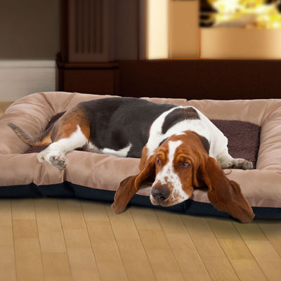 "PAW Medium Plush Cozy Pet Crate Dog Bed - 19"" X 26"" X 3"""
