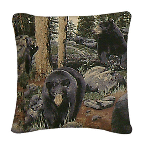 THE BEARS SQ PILLOW