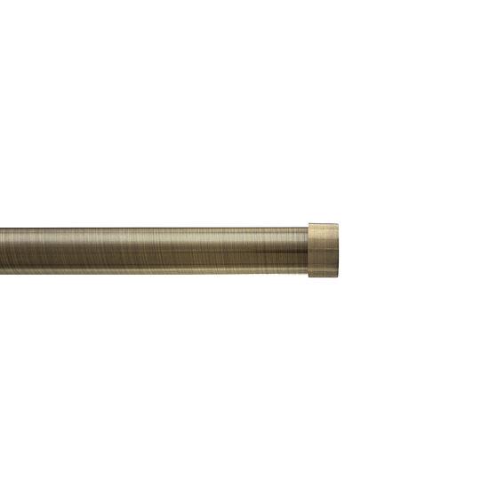 "HDI Premium Cap 1⅛"" Single Curtain Rod"