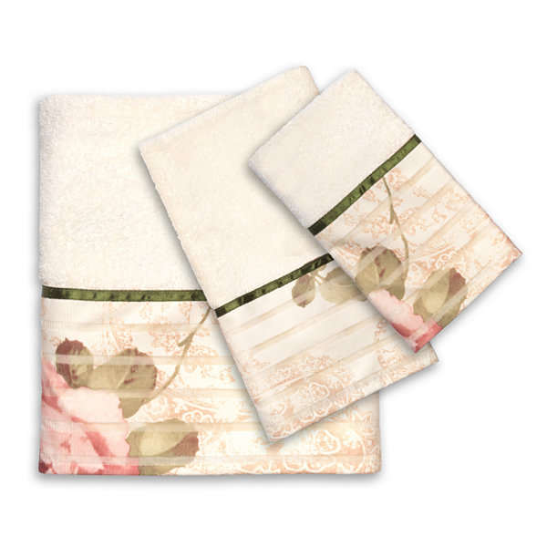 Popular Bath Madeline 3-pc. Bath Towel Set