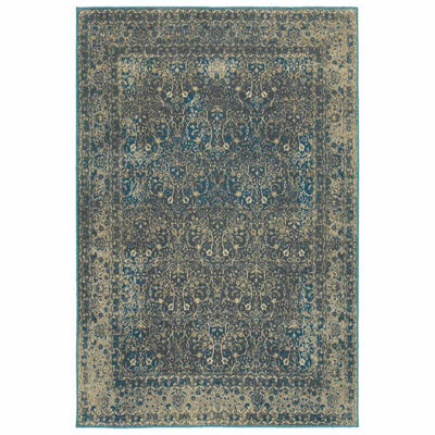 Covington Home Peyton Azur Rectangular Rugs
