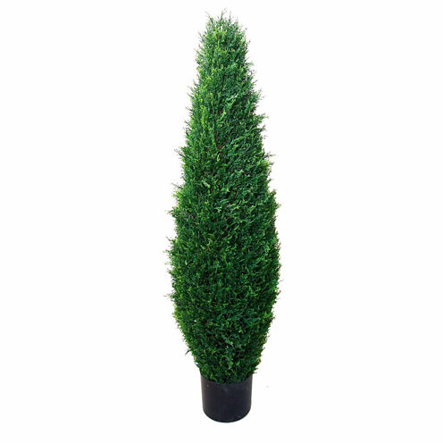 """41"""" Potted Cypress Tree"""